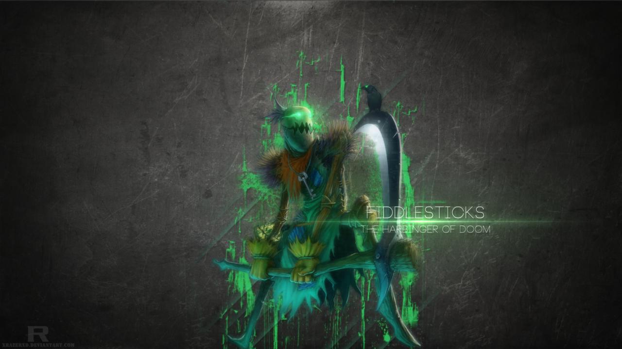 League Of Legends Fiddlesticks Wallpaper By Xrazerxd Deviantart