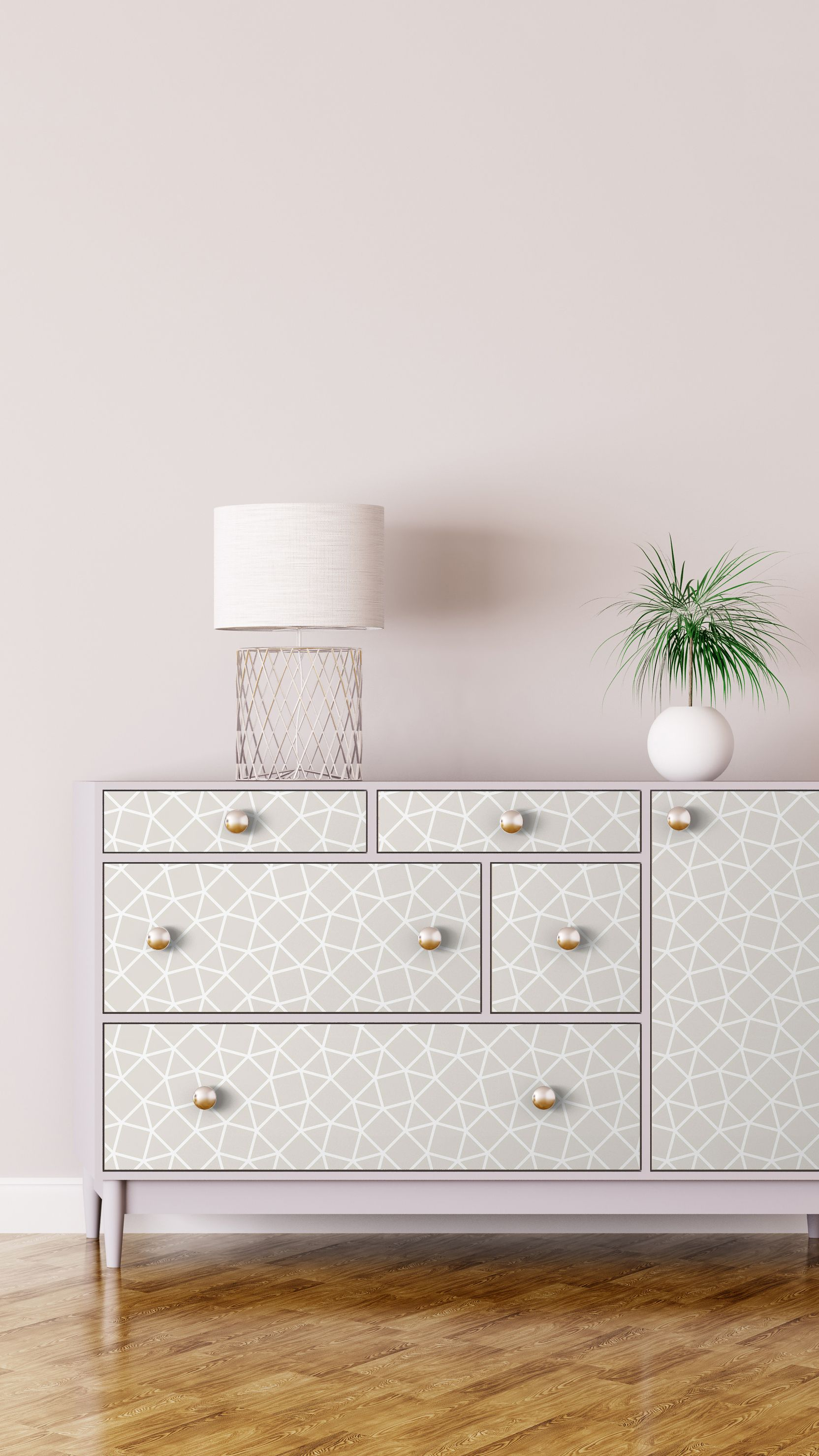 Beyond The Wall 5 Creative Uses Of Peel And Stick Wallpaper Quick Diy Furniture Peel And Stick Wallpaper Vintage Tile