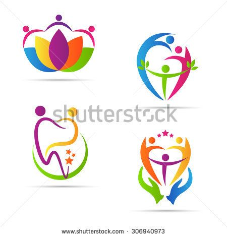 2dc95f750cc0 Care people logo vector design represents family, disabled, child ...