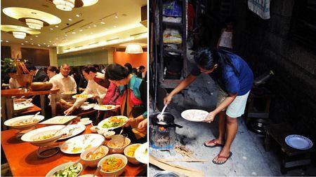 Distance between rich and poor in Vietnam