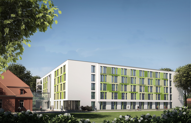 Architekturvisualisierung Stuttgart architektur visualisierung seniorenresidenz q21 für wessling