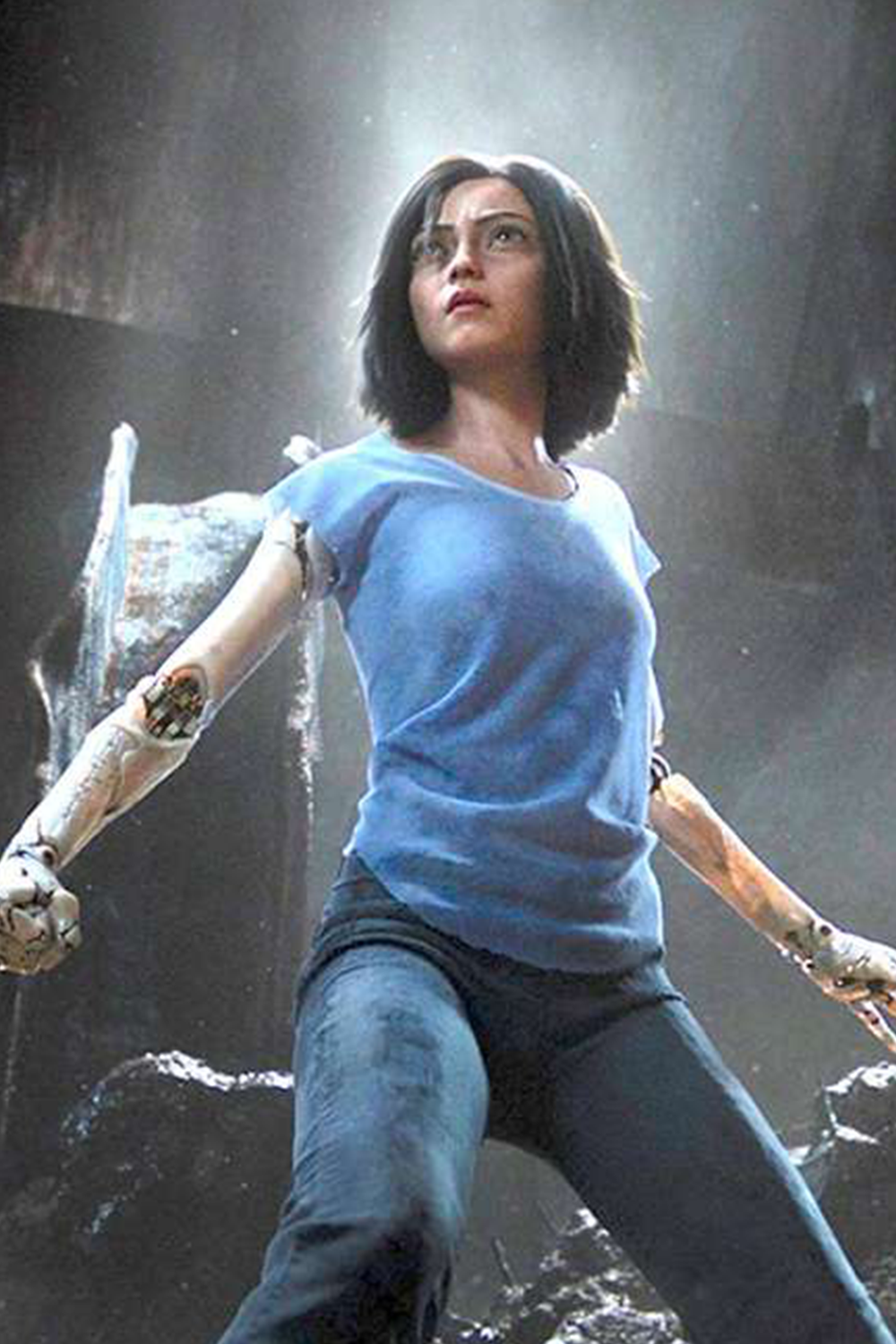 Movie Review Alita Battle Angel in 2020 James cameron