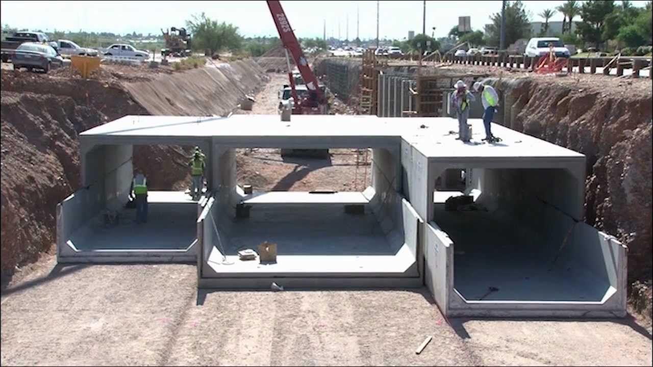 Precast Concrete Box Culvert | Future Man Construction Methods in