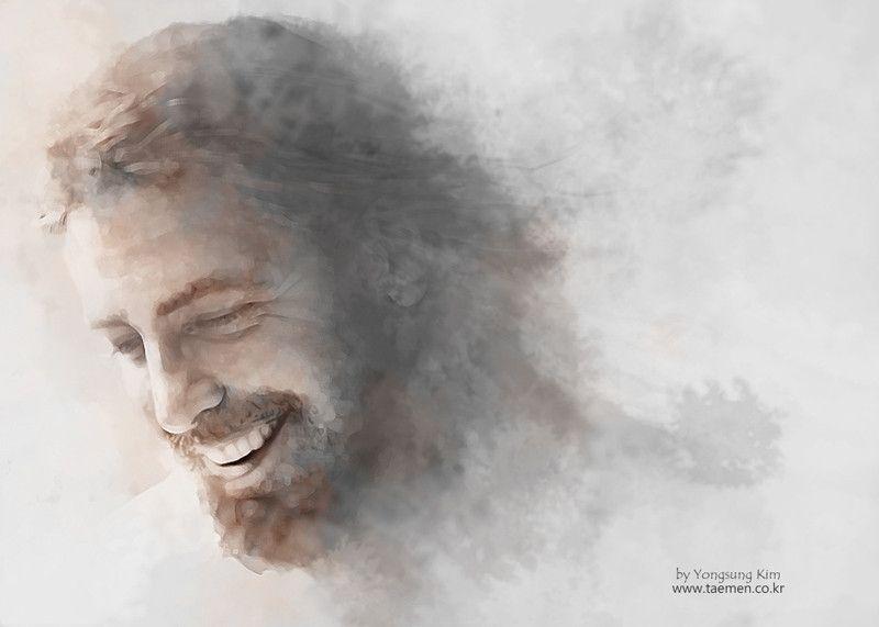 yongsung kim painting | Pictures of jesus christ, Jesus painting ...