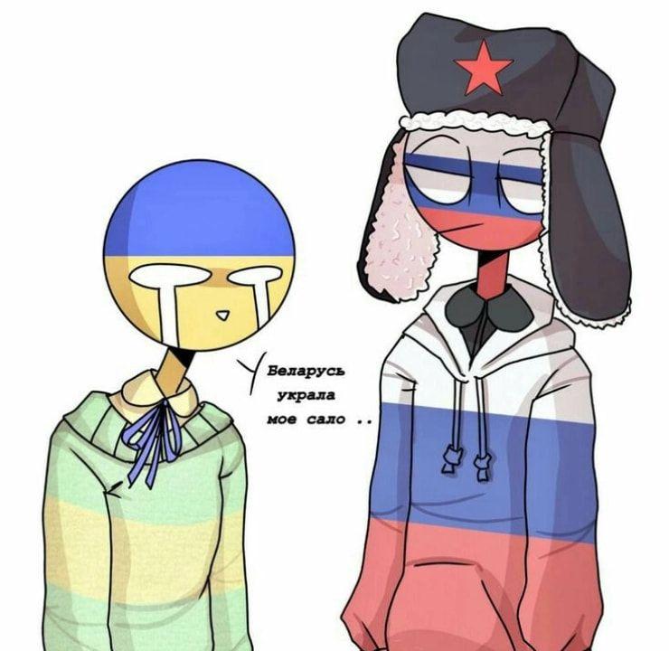 Countryhumans S Izobrazheniyami Ukraina Fendi Komiksy