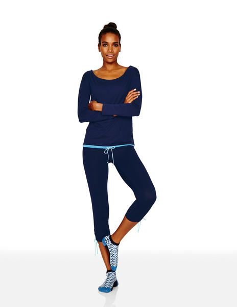 Yoga Drawcord Top Ba059 Yoga At Boden Uber Cozy Work Out Gear
