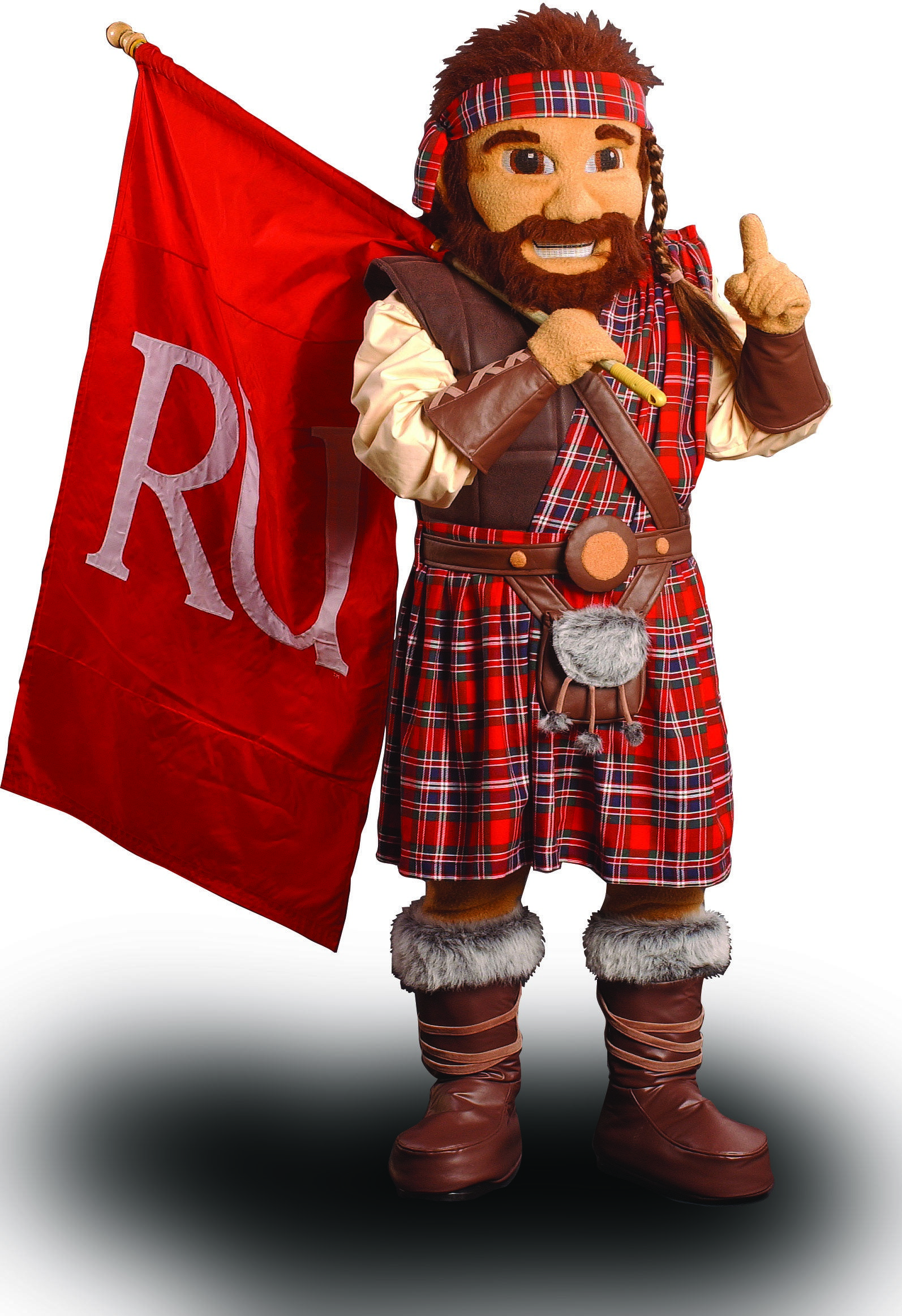 The Highlander is the official mascot of Radford University. Learn more about RU: www.radford.edu