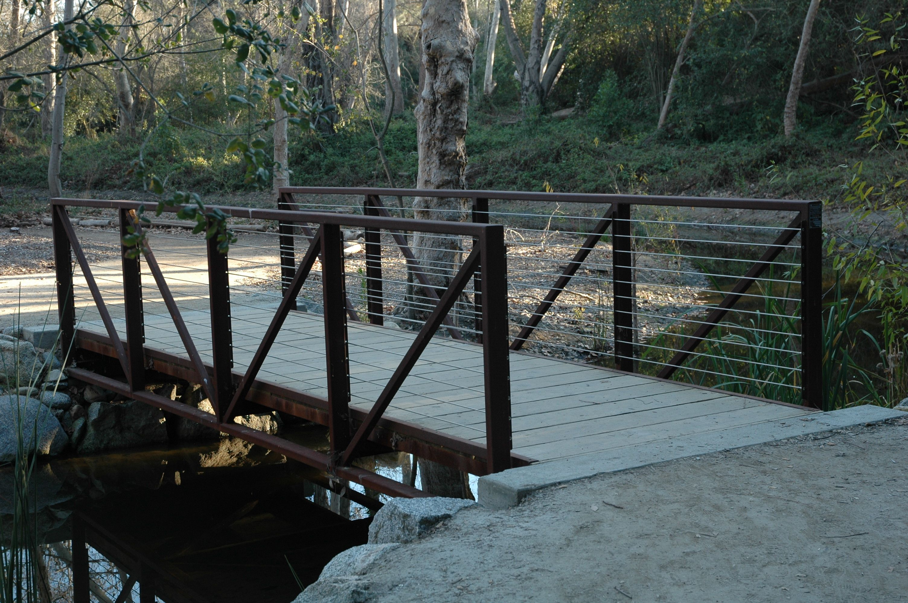 Rustic Residential Driveway Bridges   Yahoo Image Search Results · Garden  BridgeMetal ...