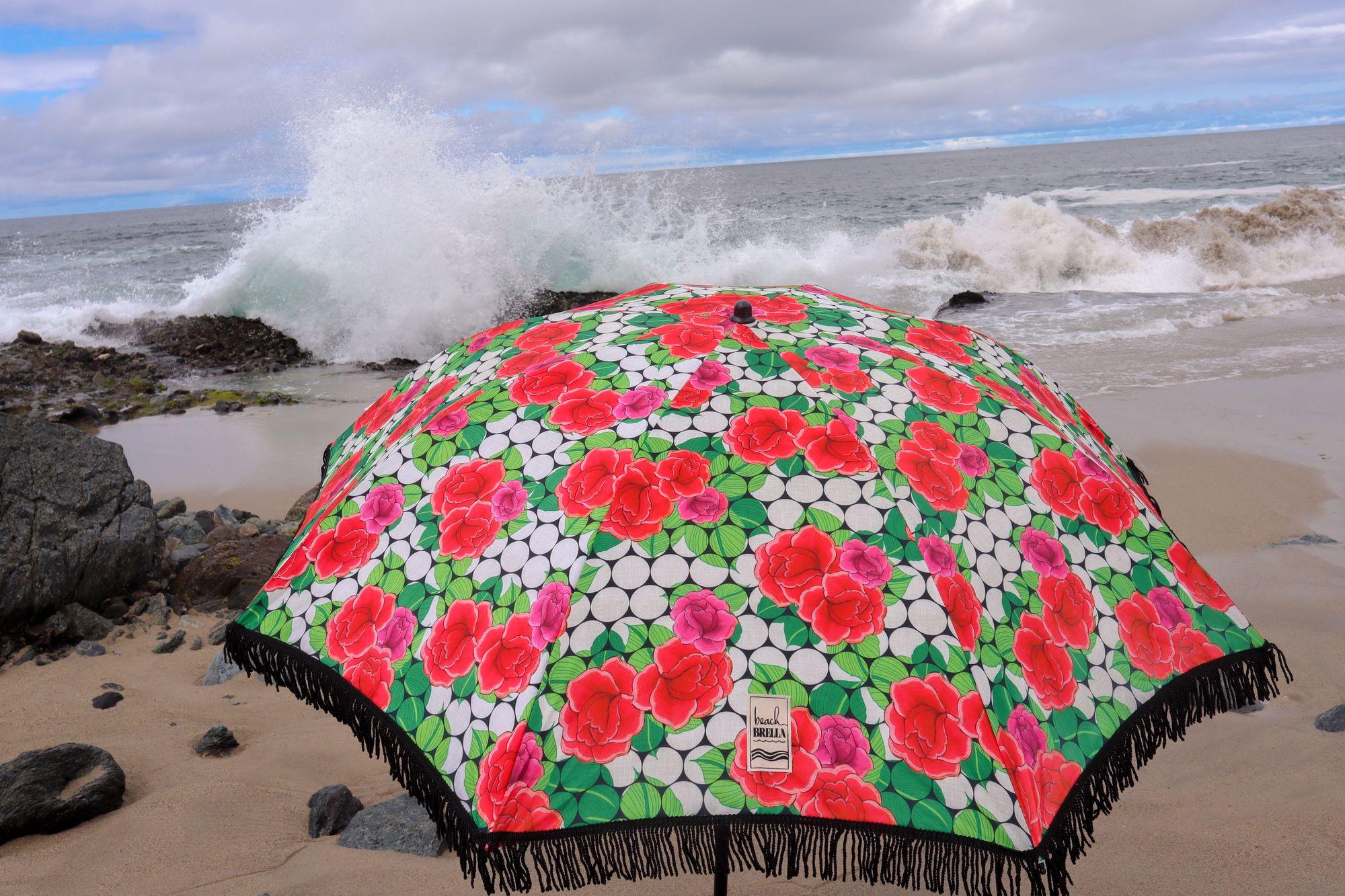 Rose Beach Umbrella