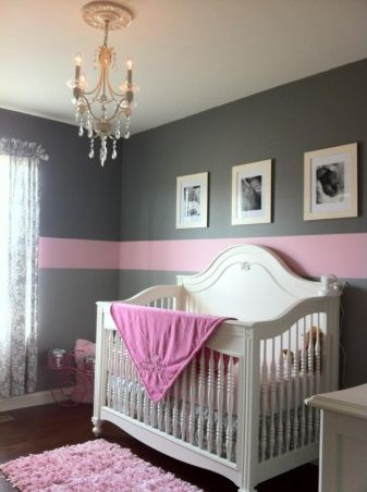Information About Rate My Space Pink And Gray Nursery Pink And