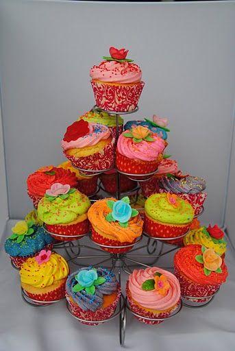 Vrolijke cupcakes