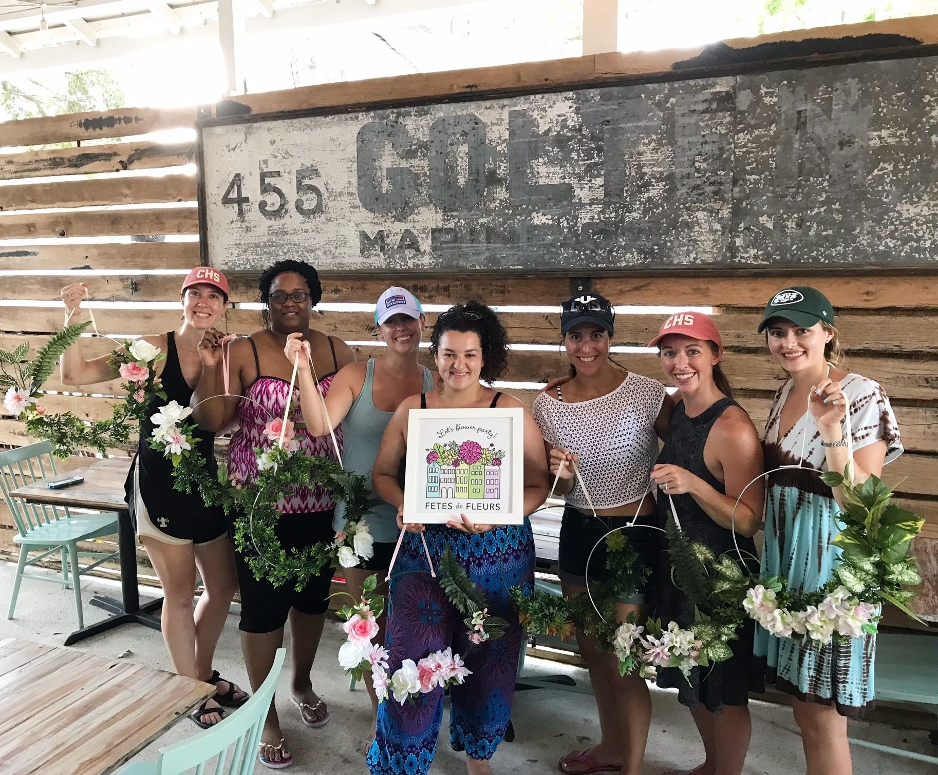 flower crowns for a classy charleston bachelorette weekend in 2018