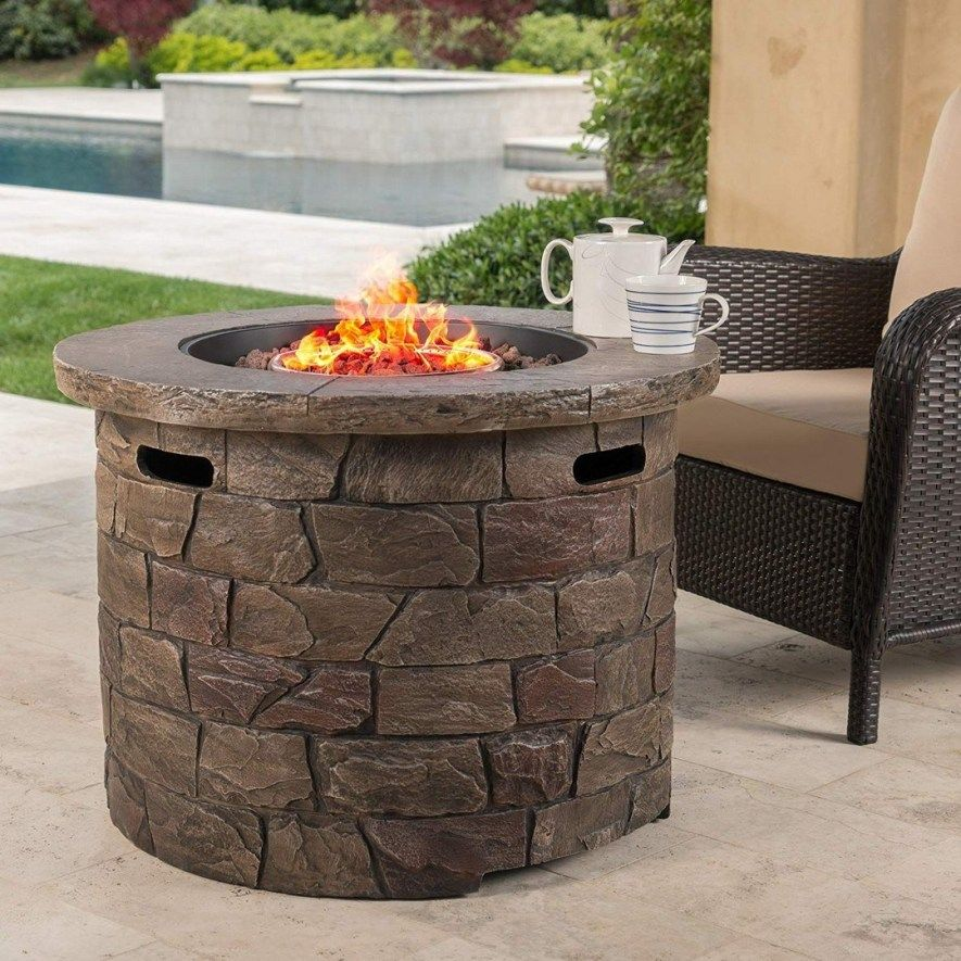 24 diy outdoor fireplace and firepit ideas gas firepit