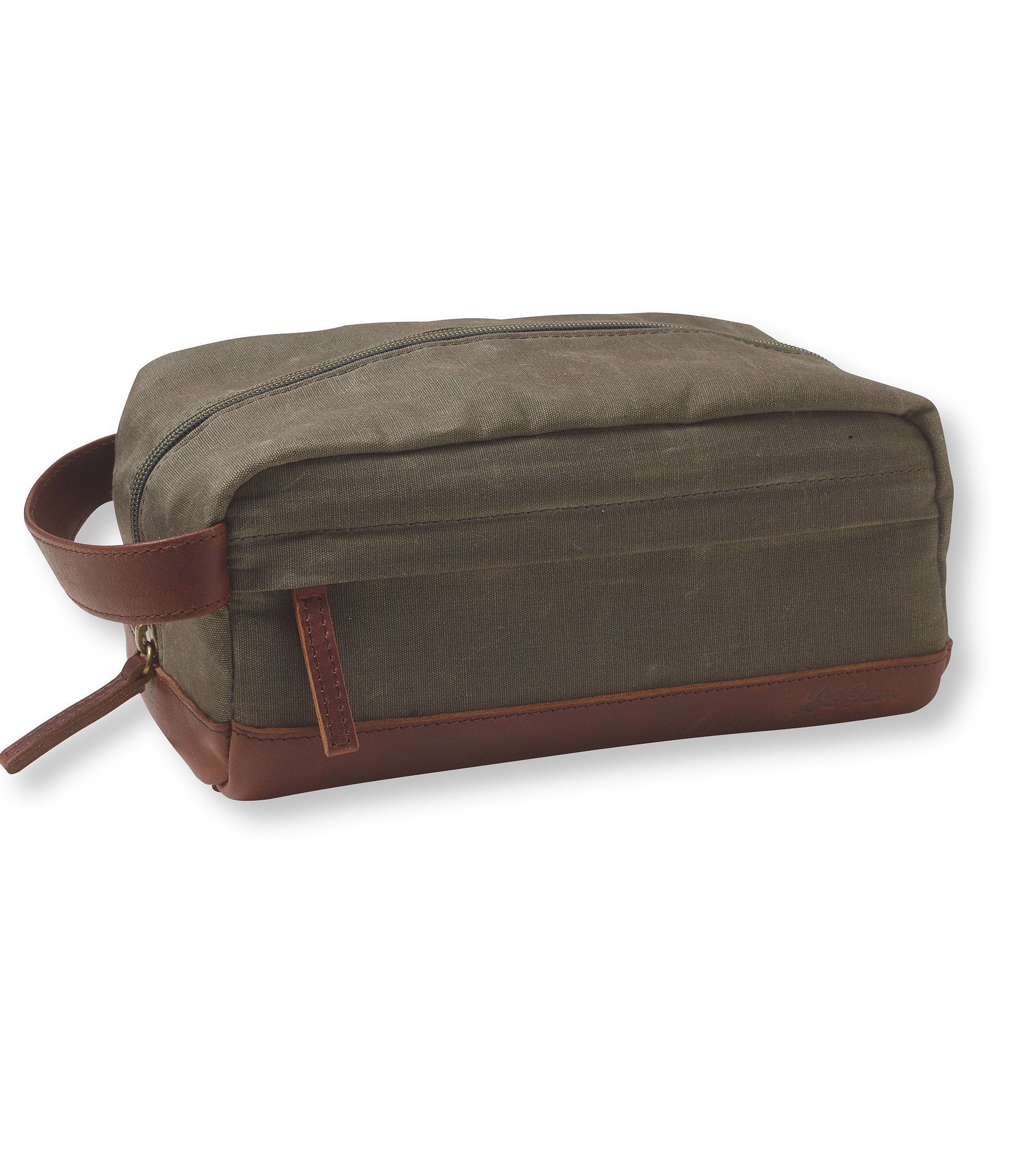 Heritage Waxed-Canvas Toiletry Kit  5ed6c1c441c69
