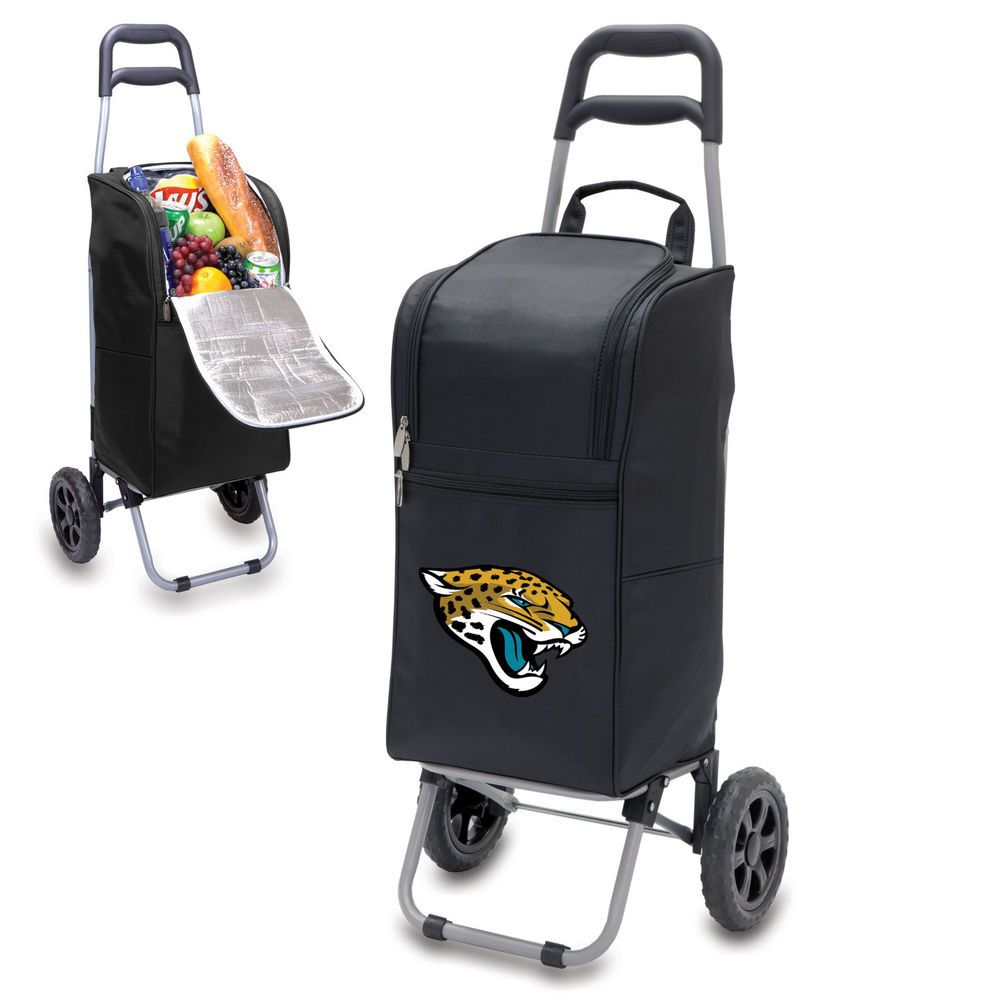 Game cooler bags - Nfl Jacksonville Jaguars Football Game Cooler Cart Detachable Picnic Tote Jacksonvillejaguars