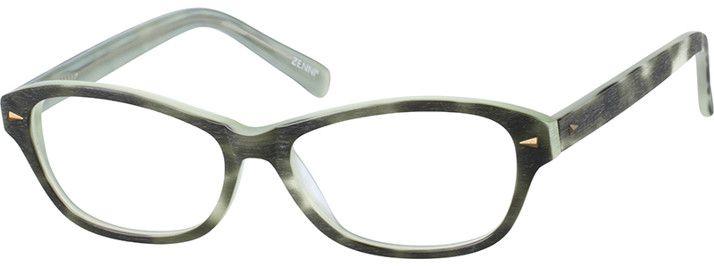 WomenFull RimAcetate/PlasticEyeglasses #669834