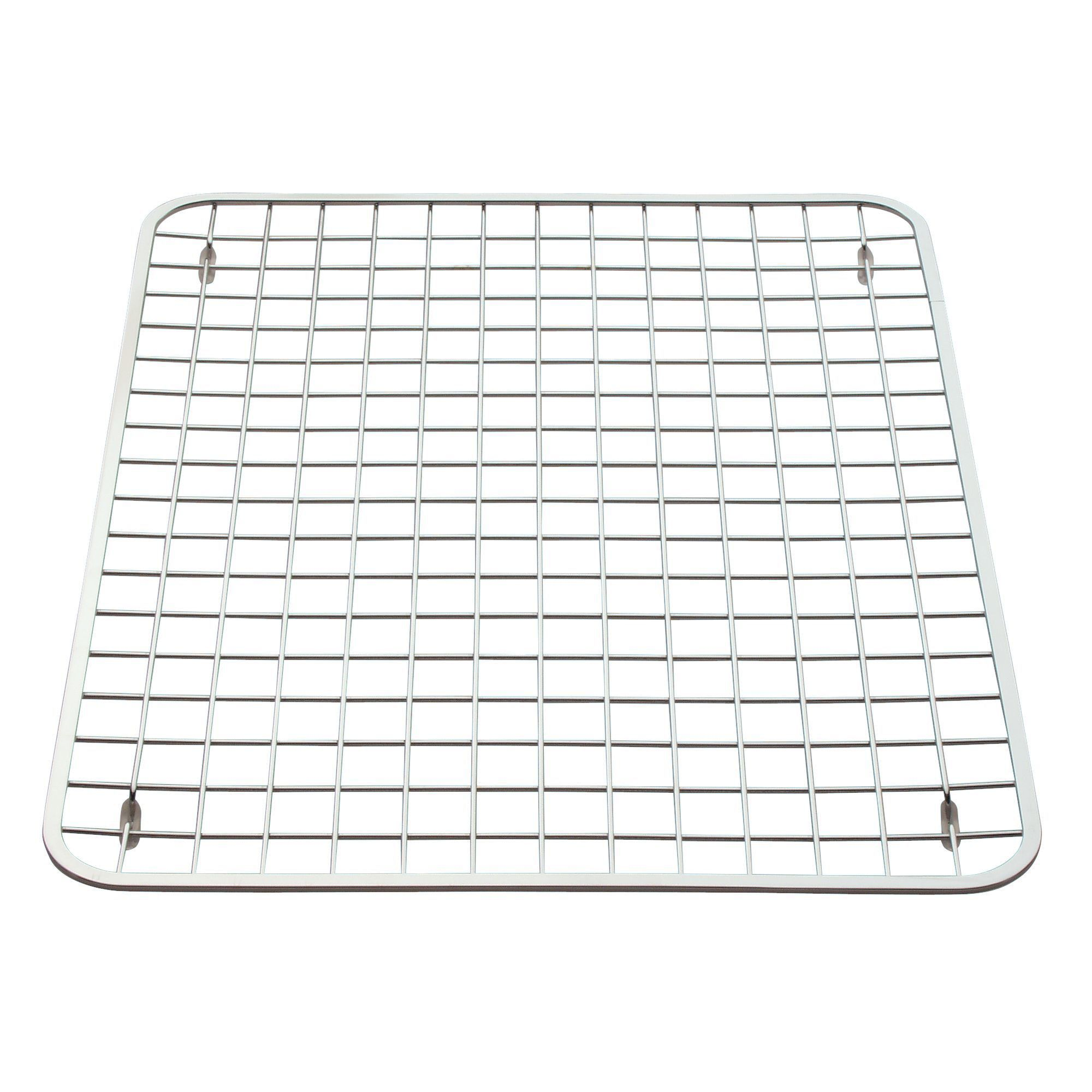 Interdesign Gia Stainless Steel Sink Grid Regular Polished Chrome