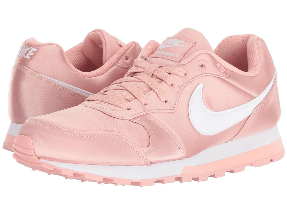 0147edac8e9 Nike MD Runner 2 Women s Classic Shoes Coral Stardust White ...