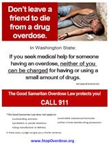 Overdose Prevention Education Brochure  National Alcohol  Drug