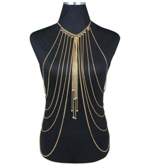 Body Chain Gold Plated