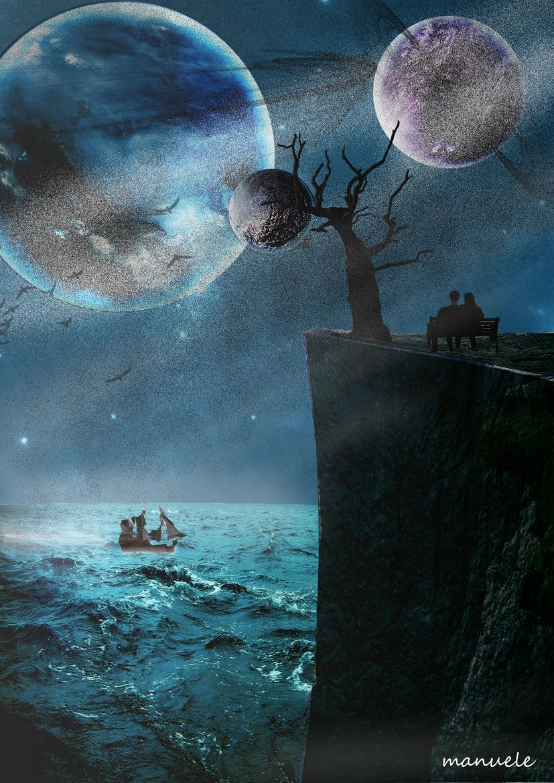 midnight cliff