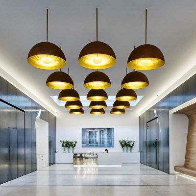 Contemporary Pendant Luminaires With Combination Of Black Gold Colors Lighting Blackgoldlighting Lighting