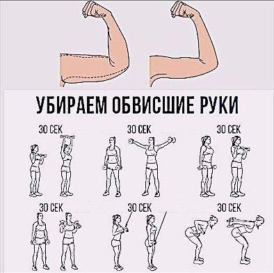 Тренировка для рук . ️как обычно, каждое упражнение 2-3 ...