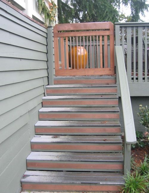 Best Copper And Cedar Gate Copper Stair Riser Details 400 x 300