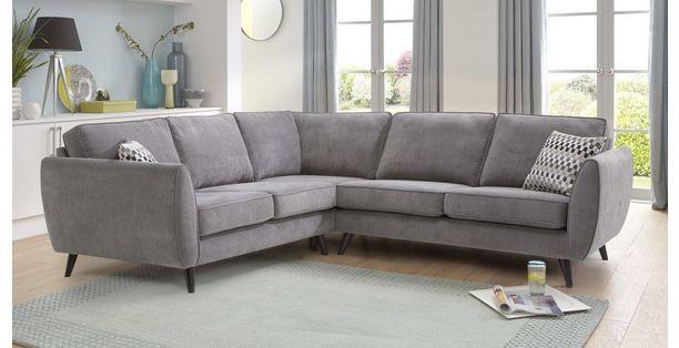 Cheap Sofas DFS Sofas Aurora Fabric Corner Sofa Group DFS angelic Armchair fabric Sofa for Sales in