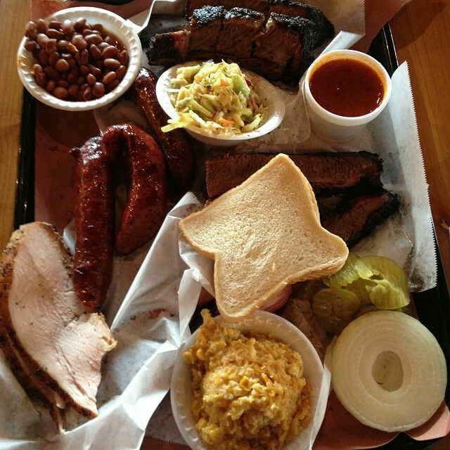 A perfect BBQ tray