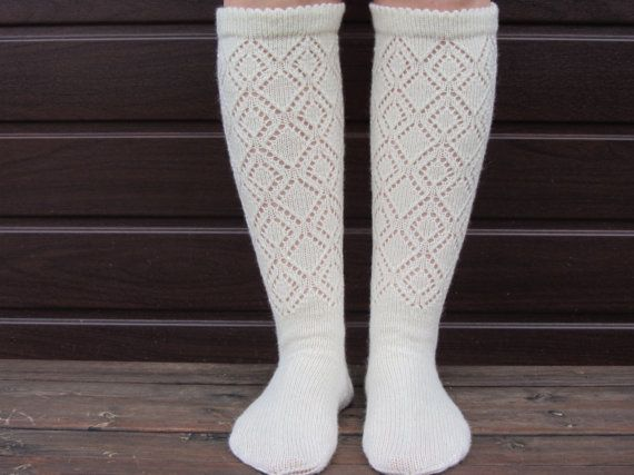 Hey, I found this really awesome Etsy listing at https://www.etsy.com/listing/252360396/lace-wool-knee-high-socks