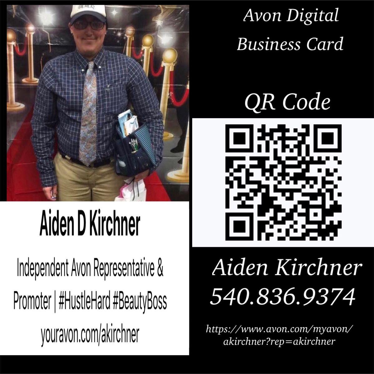 My avon digital business card digital business card