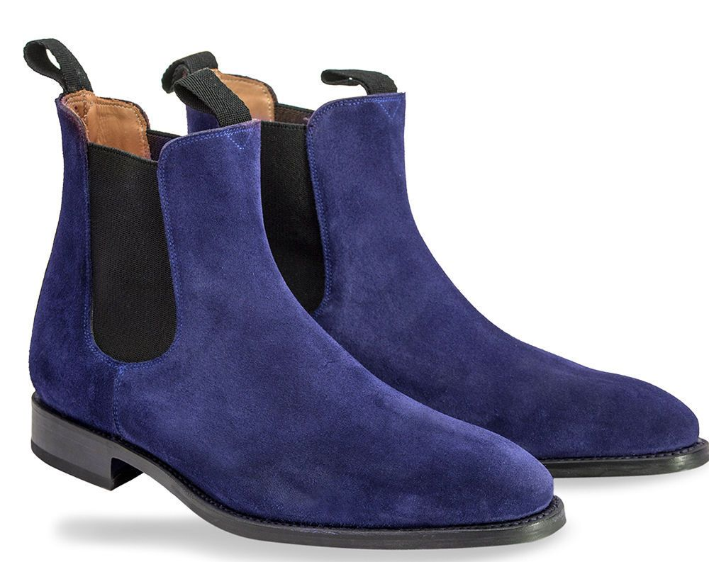 leather boots, Suede leather boots
