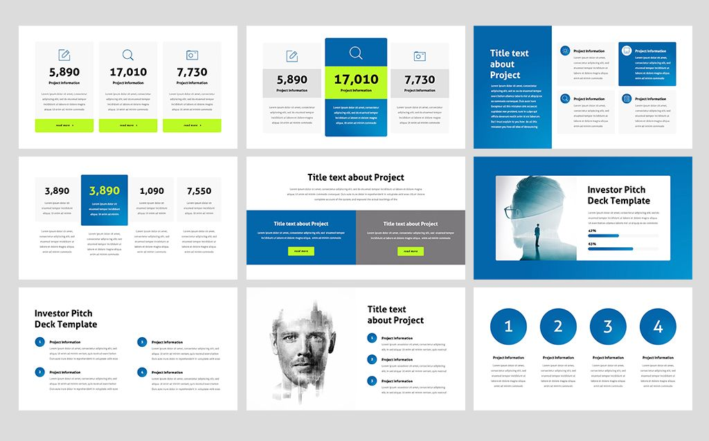 Investor Pitch Deck PowerPoint Template 74373 Templates