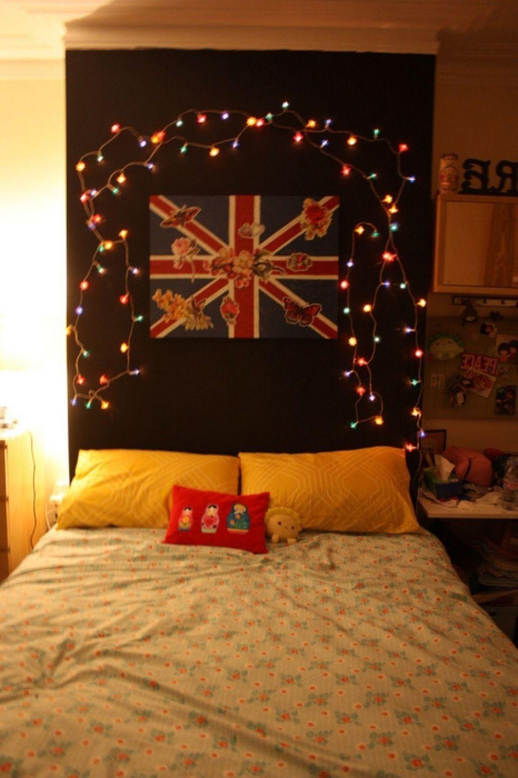 Hervorragend Weihnachtsbeleuchtung Im Schlafzimmer #Schlafzimmer