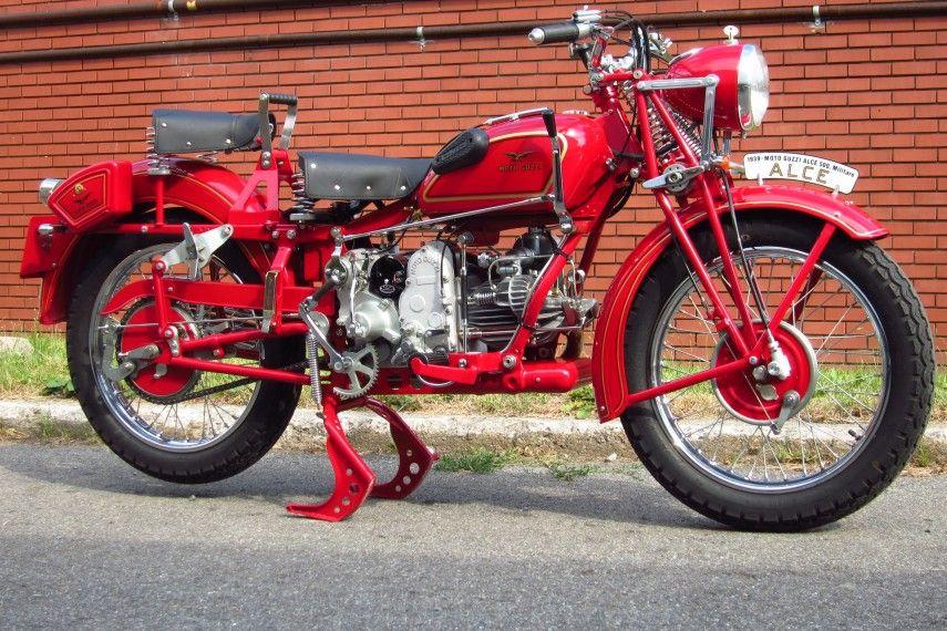 1939 Moto Guzzi Alce 500 Militare Classic Motorcycles