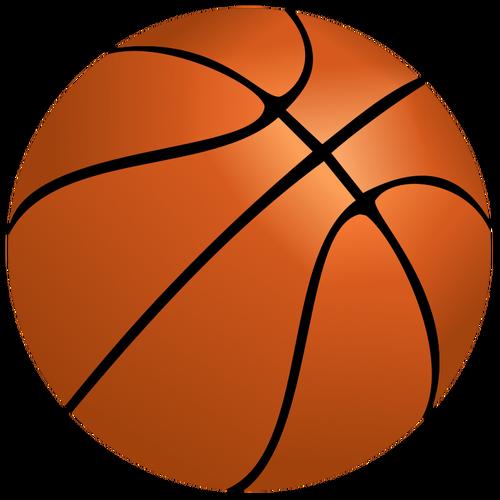 Vector de la imagen de pelota de baloncesto  cf87b3e9621fa