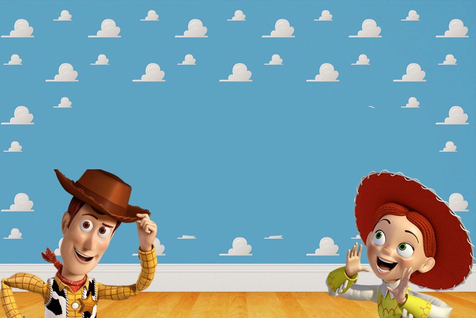 Toy Story 3 Invitaciones Tarjetas O Marco De Fotos Para