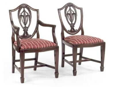 federal style furniture | the federalist dining chairs & dining