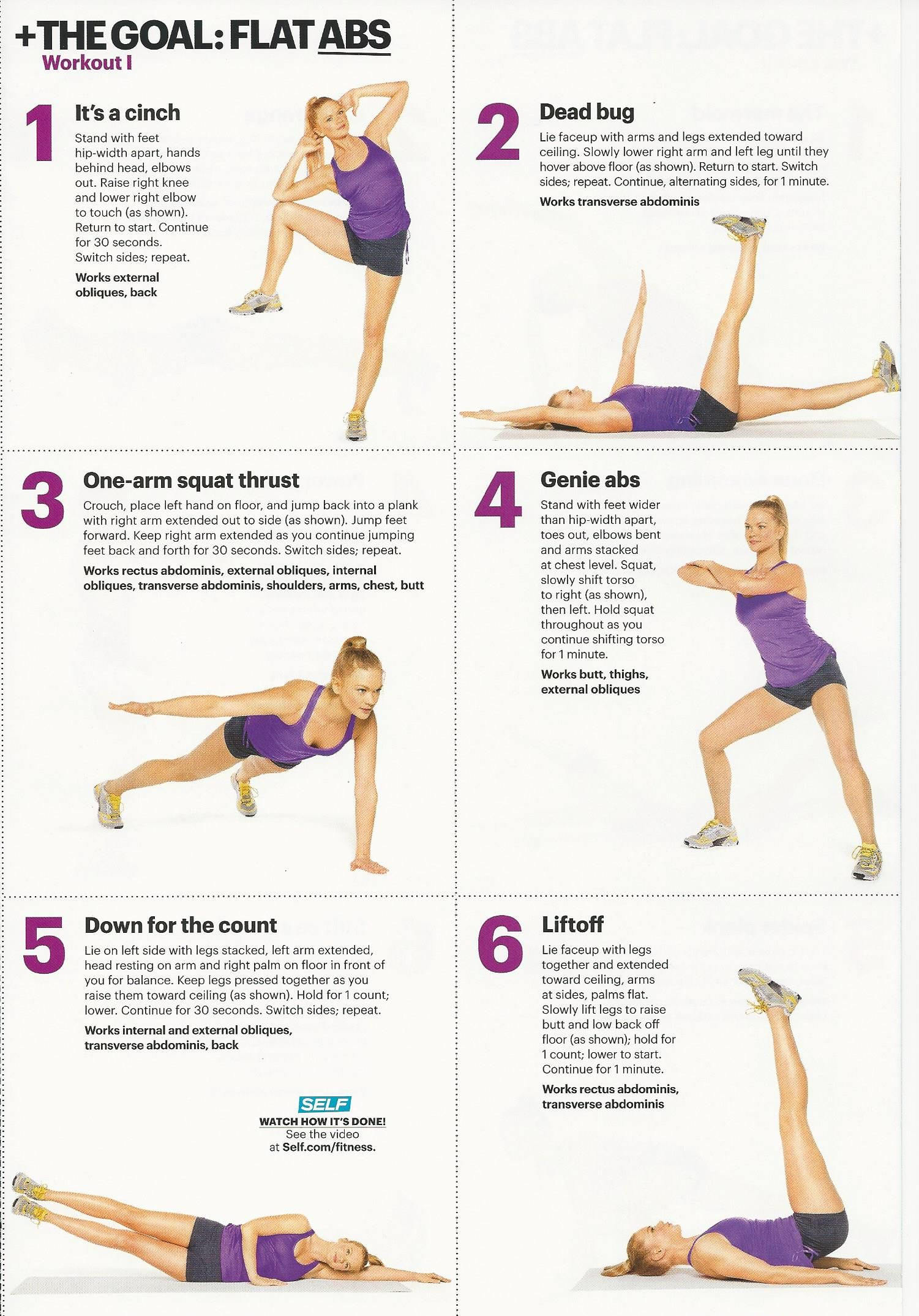 Your Crunch Less Guide To Flat Abs Myfitnesspal Abs Workout For Women Abs Workout Six Pack Abs Workout