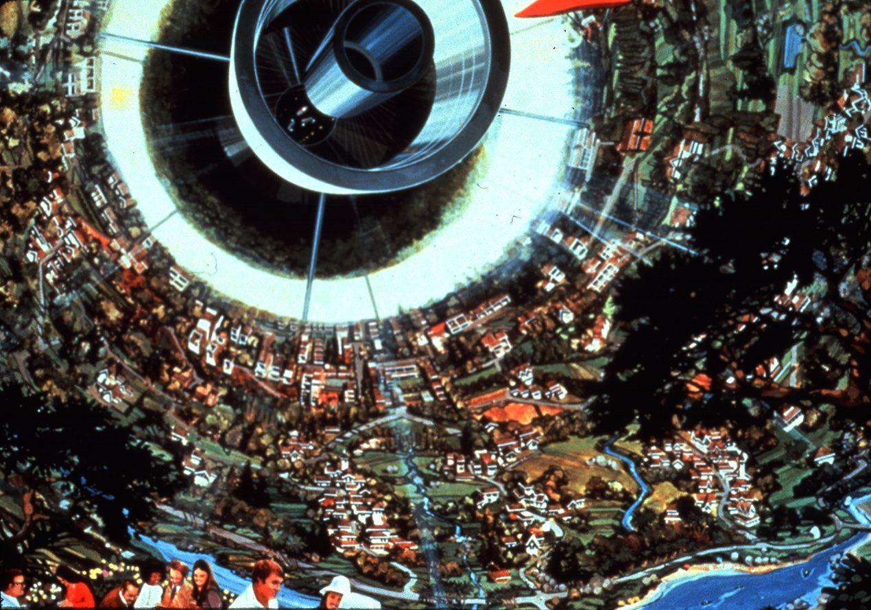 Inside a Bernal Sphere.