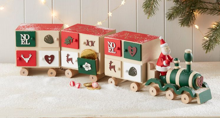 How To Make A Sophisticated Advent Train Adventchristmas Adult