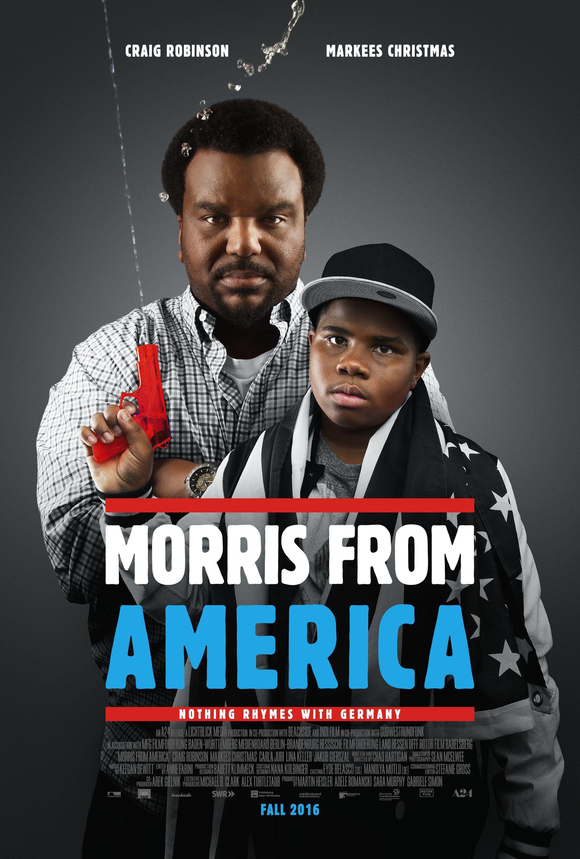 Morris from America (2016) Film Poster | America movie ...
