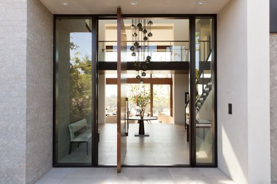 Pacific Palisades Ca Private Residence R38 Grabill Pivot Doors Door Design Home