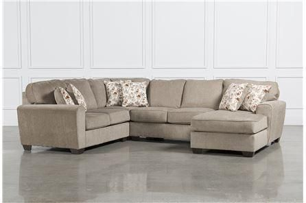 Patola Park 4 Piece Sectional Wraf Corner Chaise Main Furniture