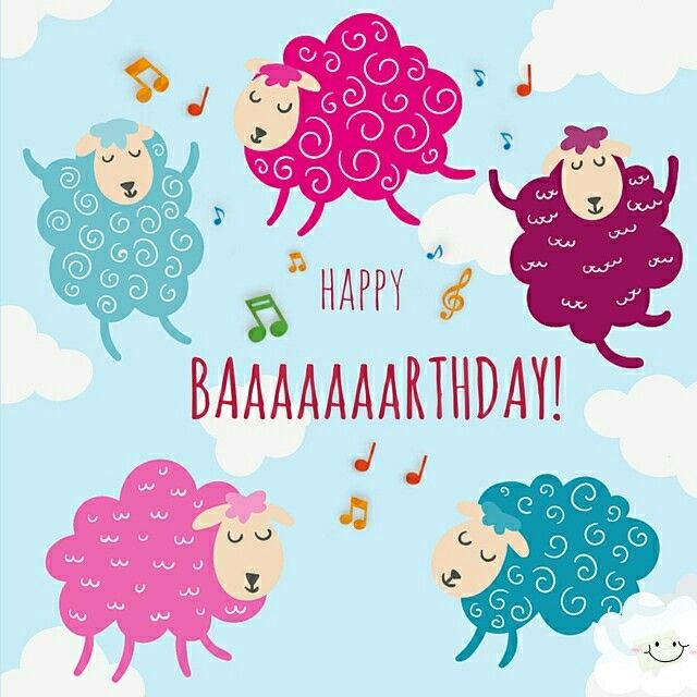 Happy Birthday Sheep Birthday Wishes Happy Birthday Images