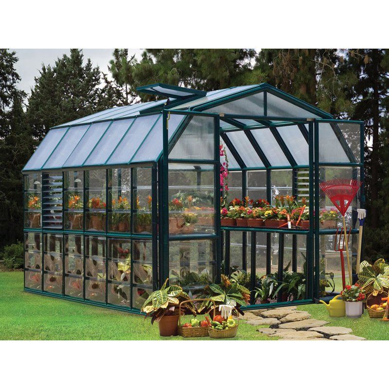 70d92365074ff1f5c43822d2dca90f85 - Rion Grand Gardener 2 Clear Greenhouse 8 X 16
