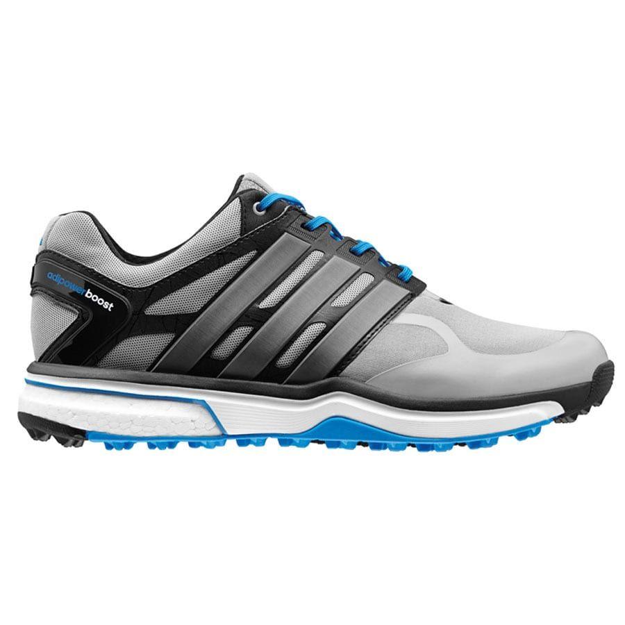 bf2bfcbe Adidas Men's Adipower Sport Boost Light Onix/ Dark Silver/ Blue Golf ...