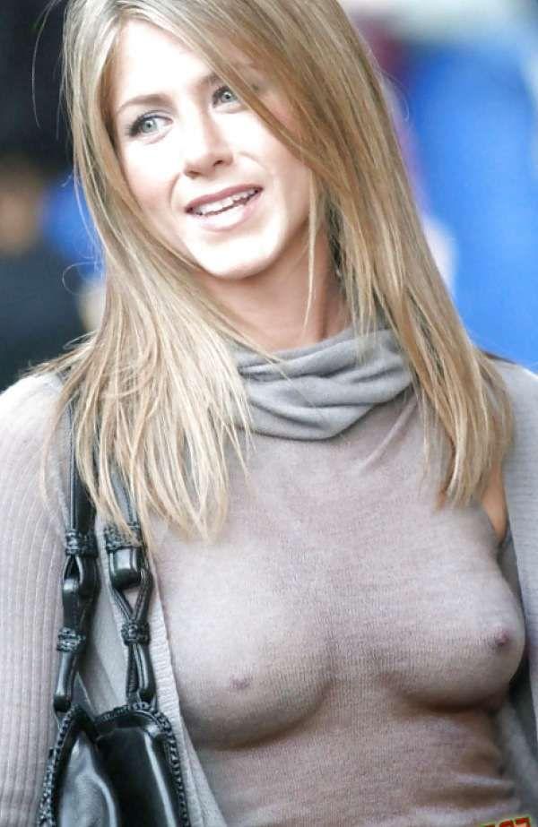 jennifer aniston naked nipples