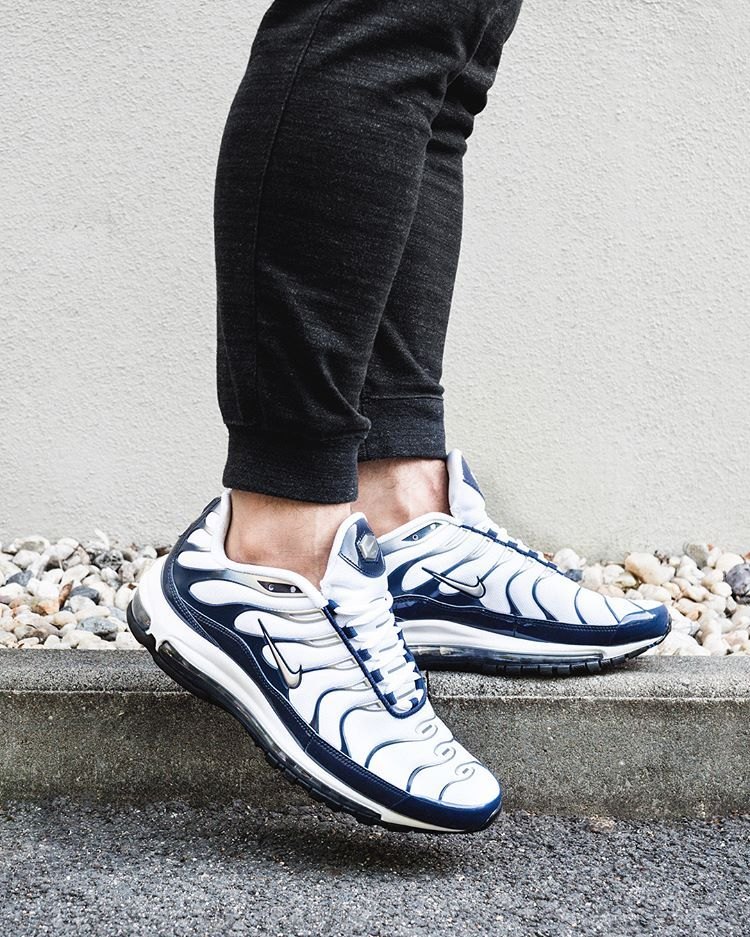 buy online f75fb a2697 Nike Air Max 97 Plus Navy - Grailify Sneaker Releases